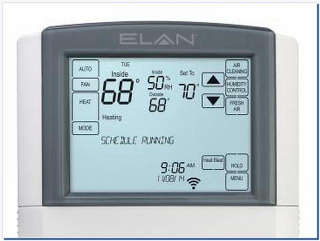 Thermostat circulate mode vs auto