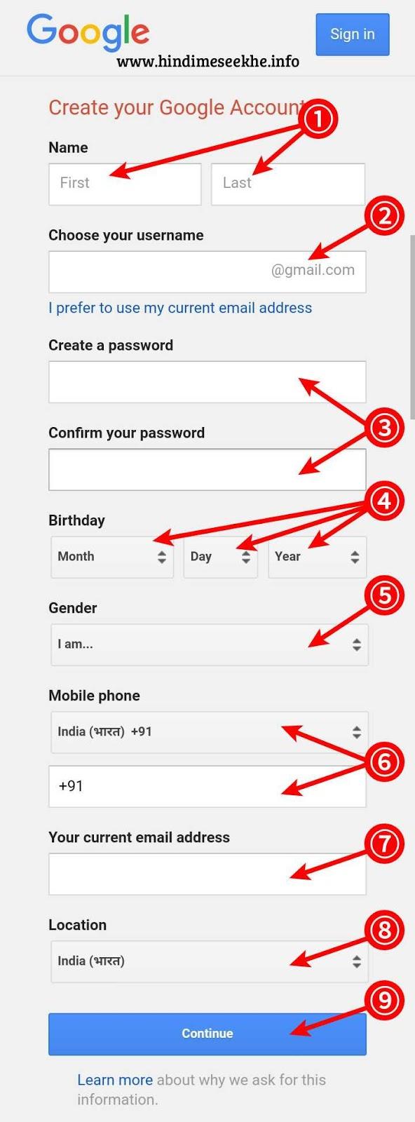 gmail-address-kaise-banaye