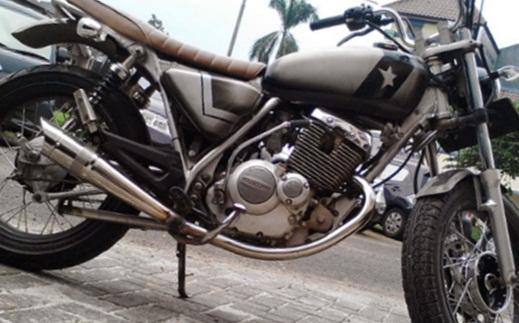 Modifikasi Suzuki Thunder 125 Jap Style Ciamik