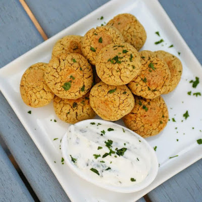 Healthy Baked Falafel Recipe