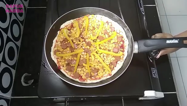 Cara Membuat Pizza Teflon - Dapur Nadda 15