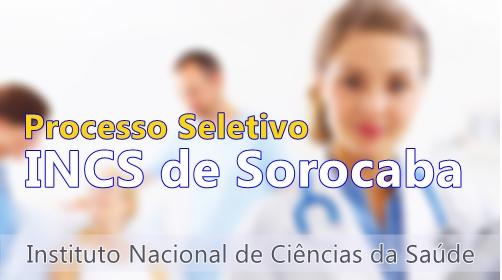Apostila processo seletivo INCS Sorocaba 2017