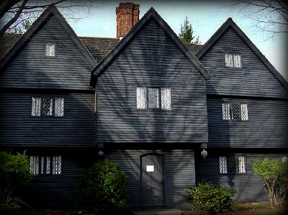 Witch House, Salem, Massachusetts, shadow, tree