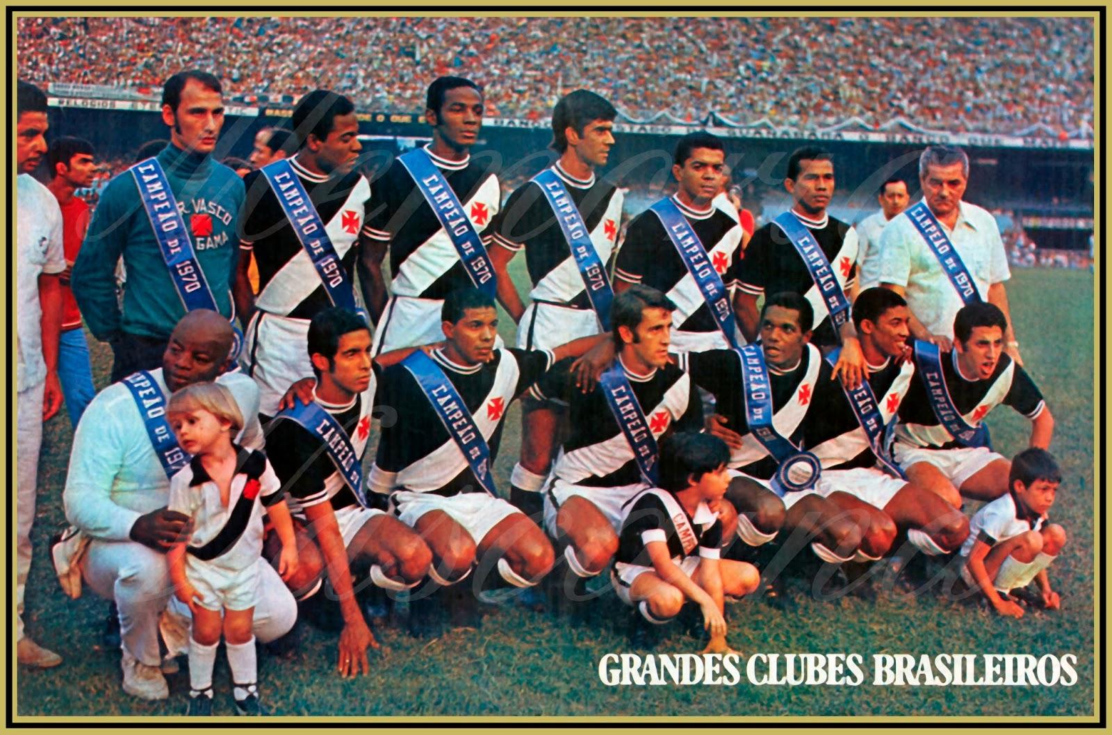 6e45645a53 A equipe do Club de Regatas Vasco da Gama que levantou o título de campeão  de futebol do Estado da Guanabara!