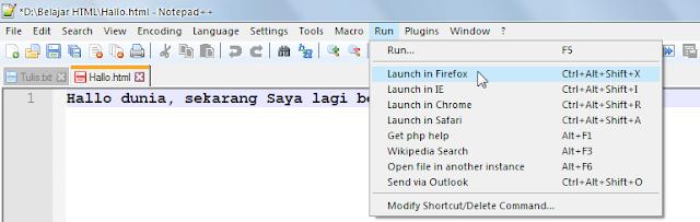 Belajar HTML Bagian 4 : Cara Menjalankan File HTML Dari Komputer Lokal 15