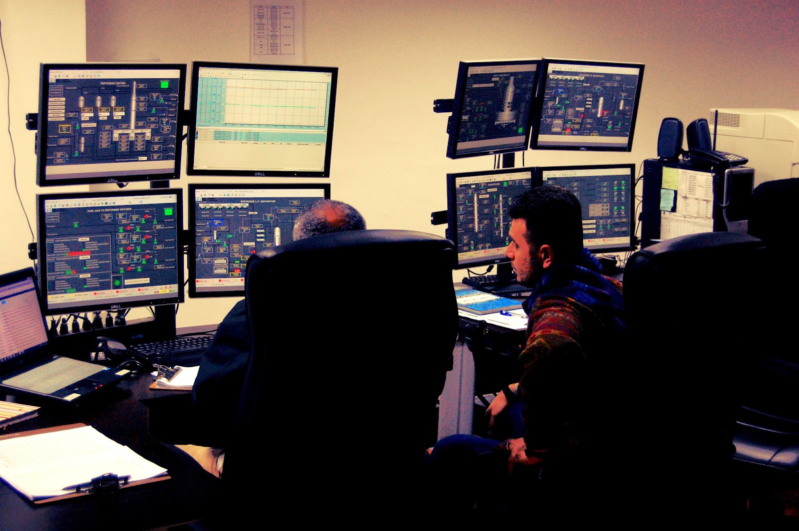 Sala de monitorización