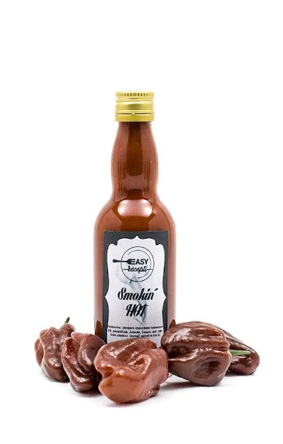 Smoked chili sauce Smokin HOT giveaway shot