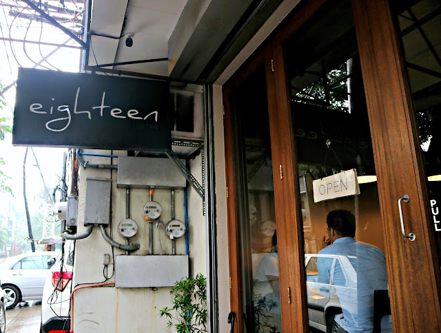Eighteen Bistro at Tomas Morato