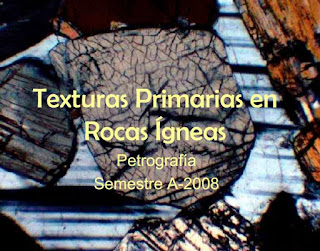 Texturas primarias en rocas igneas - Petrografia - geolibrospdf