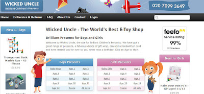 Wicked Uncle - Interesting And Unusual Children's Presents screenshot