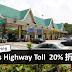 好消息! 为了配合Deepavali的到来,Plus Highway Toll 20%折扣!