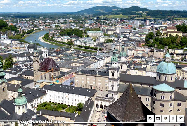 Austria - Salzburgo - Panorámica