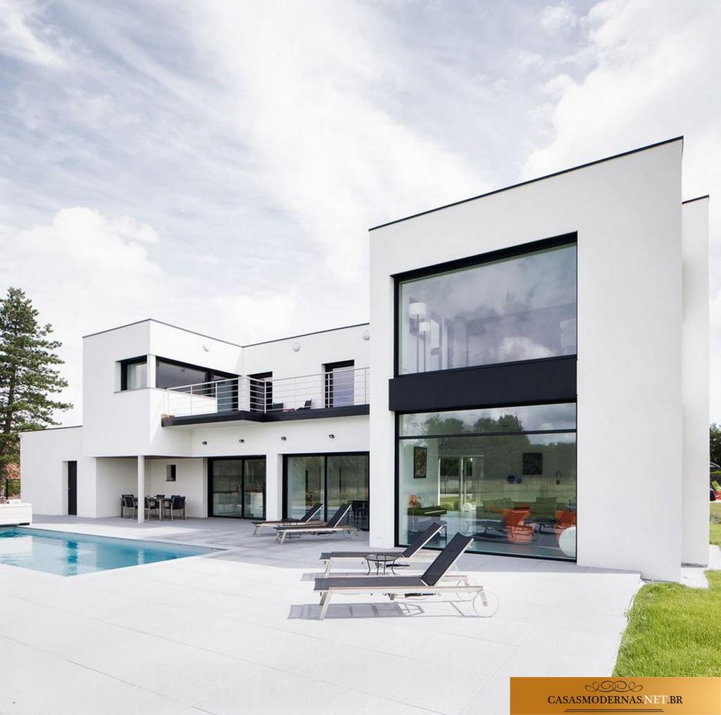 O p as casas modernas simplicidade e for Casa moderna 2015 orari