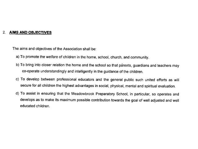 Meadowbrook Preparatory PTA - Jamaica : The Constitution of the