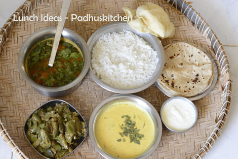 Padhuskitchen lunch menus indian lunch menu forumfinder Image collections