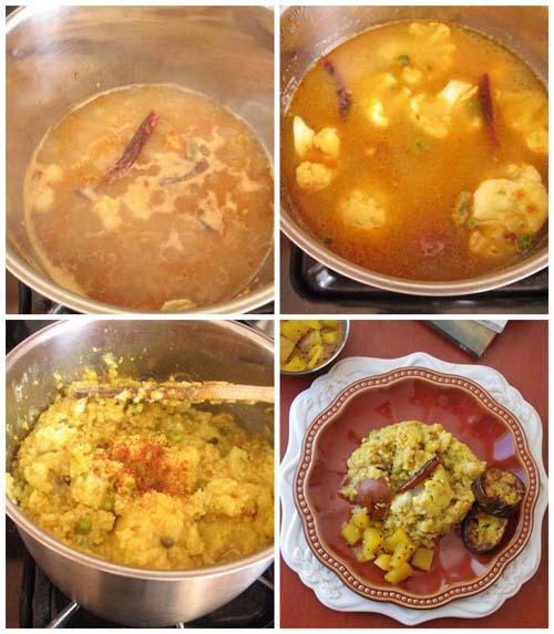 Bong Mom's CookBook: Bhoger Khichuri and Anarosher Chutney