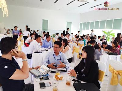 Khách hàng tham gia mở bán dự án 349 Vũ Tông Phan