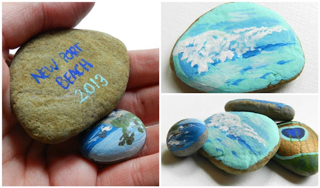 handmade rock vacation souvenirs