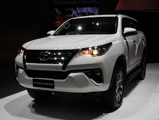 Daftar Harga Mobil Baru Toyota 2016 (OTR) Jakarta - All New Toyota Fortuner
