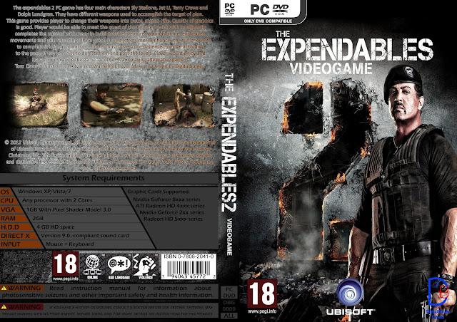 Capa The Expendables 2 PC