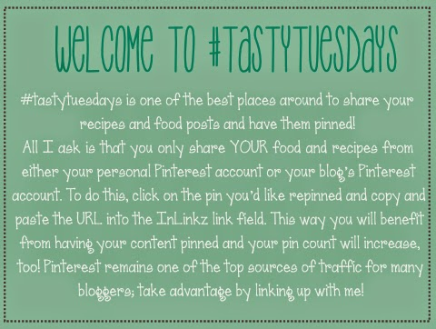 An explanation of why you should link up to #tastytuesdays on Anyonita Nibbles