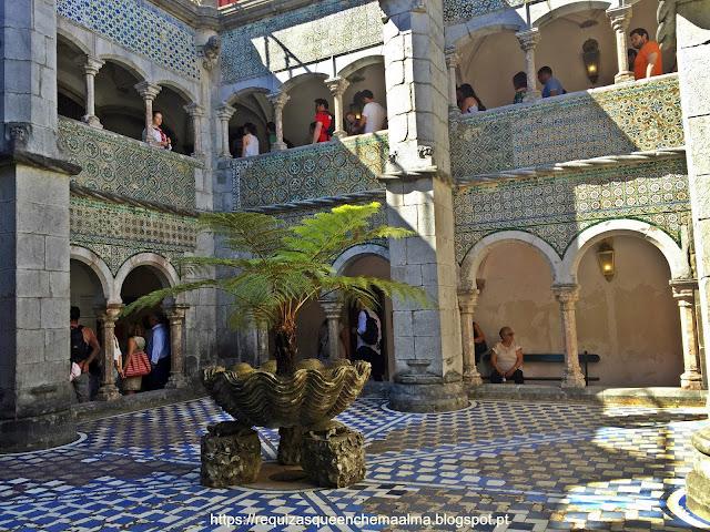 Clautro, Palácio da Pena