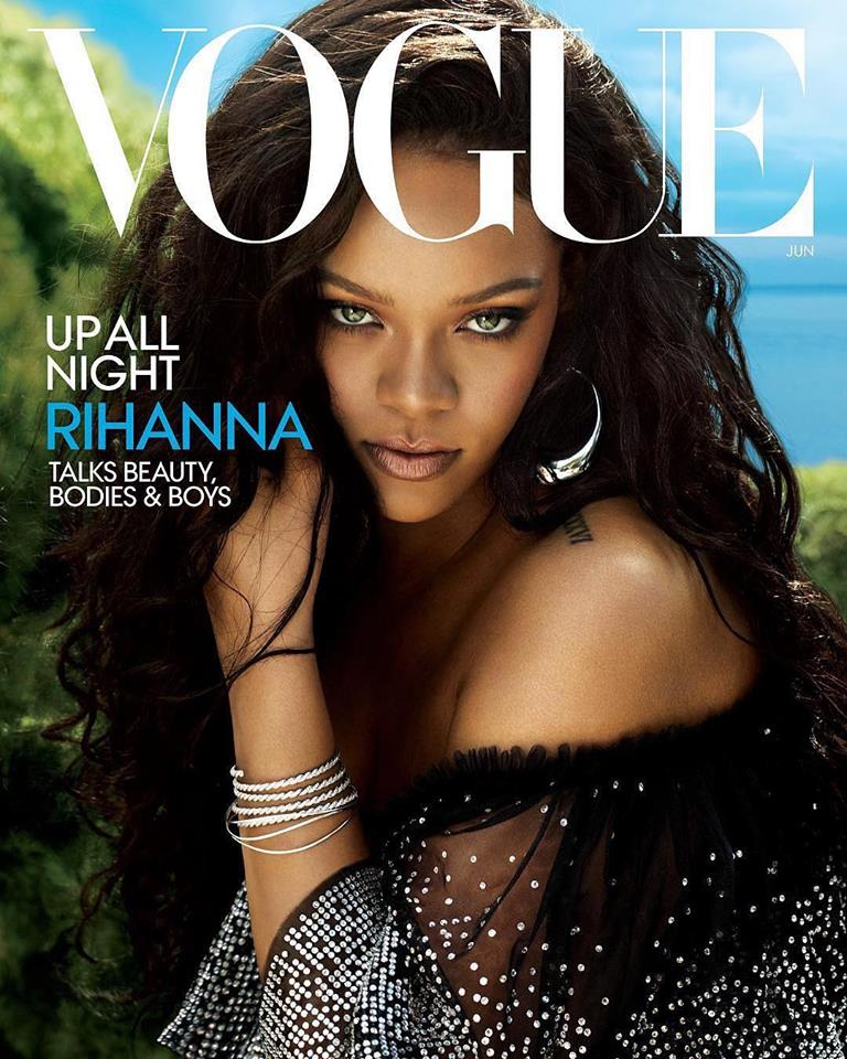 Rihanna for Vogue US June 2018