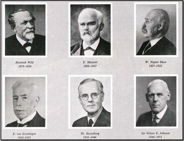 sejarah WMO - daftar presiden IMO