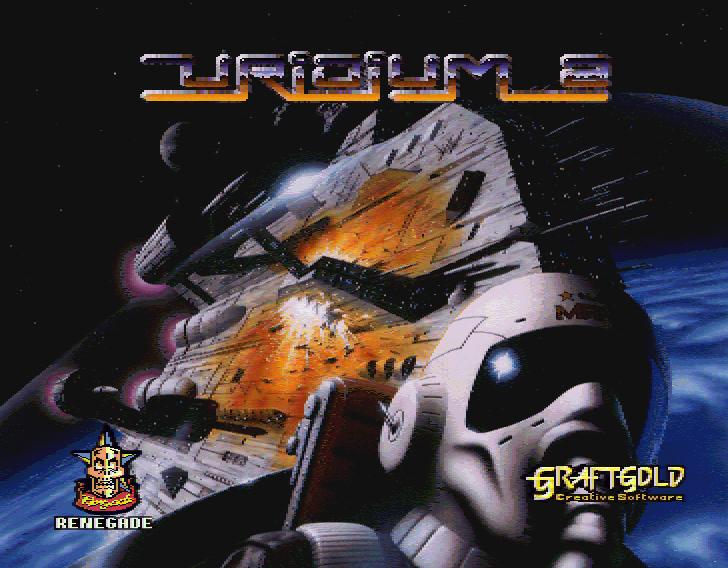 Uridium 2 title screen
