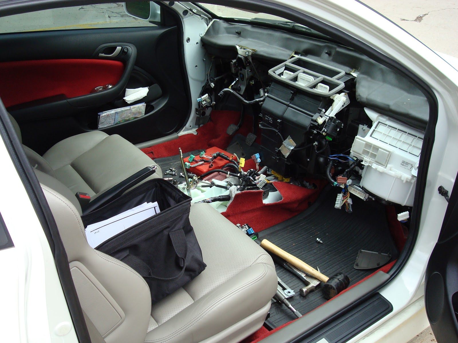 Oil Change Special >> Acura RSX Type-S / Honda Integra DC5: Dashboard tan to ...