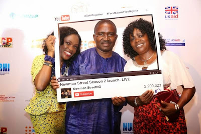 9 See all the fun & celebs at the Newman Street season2 launch