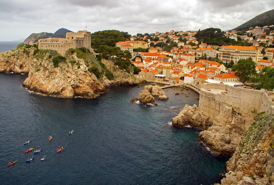 Dubrovnik from City walls