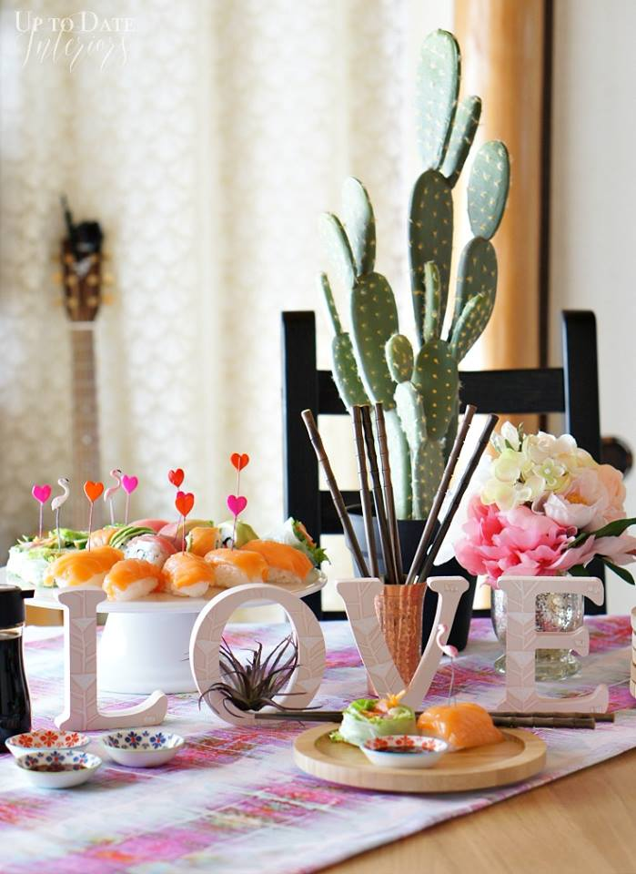 Valentine's treats and tablescapes