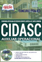 apostila cidasc auxiliar operacional 2017