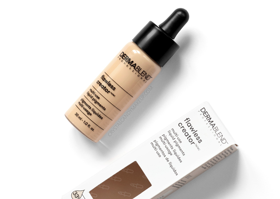 Dermablend Flawless Creator Multi-Use Liquid Pigments Foundation Review Photos Swatches Before After 10N MAC