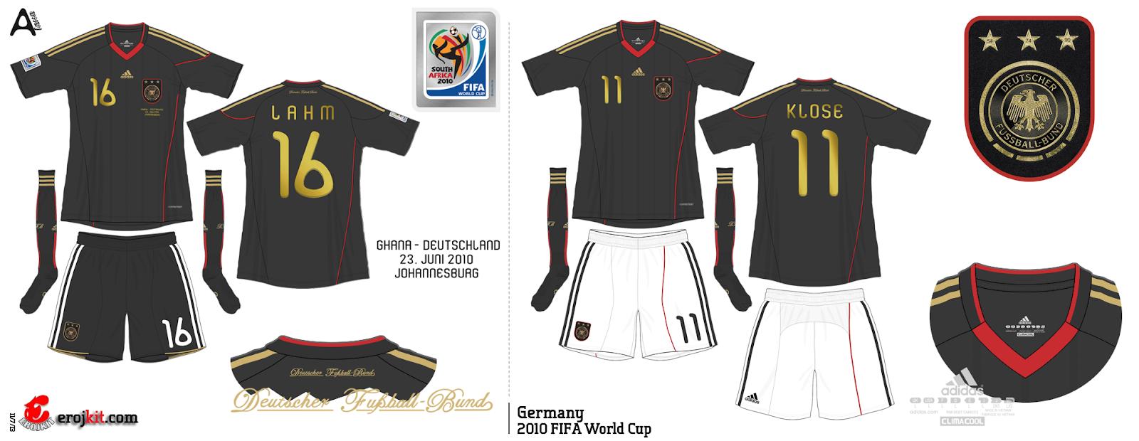 Usou seus dois uniformes na Copa a203cc37301bc