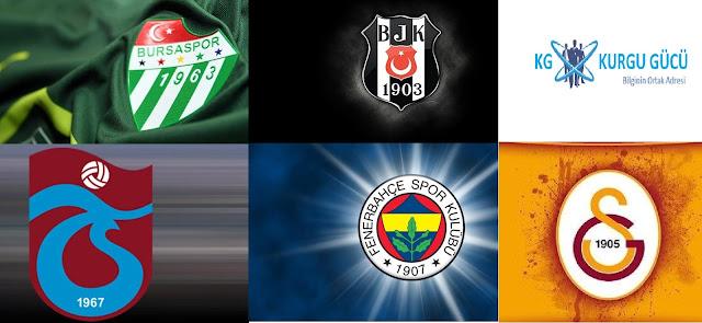 Türkiye Spor Toto Süper Liginde Şampiyon Olmuş 5 Büyük Takım - Kurgu Gücü