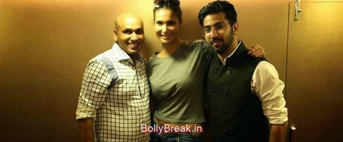 Gagan Kumar, Koena Mitra Hot HD Images At KCouture Fashion Store Launch
