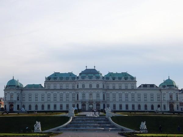 Vienne Vienna Wien Belvédère supérieur palais schloss