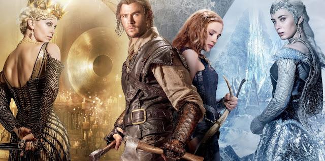 Chris Hemsworth e Jessica Chastain se unem no terceiro trailer de O Caçador e a Rainha do Gelo