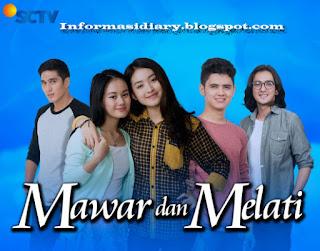 Sinopsis Mawar Melati Sctv Rabu 14 Juni - Episode 46