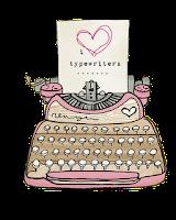 máquina de escrever em png