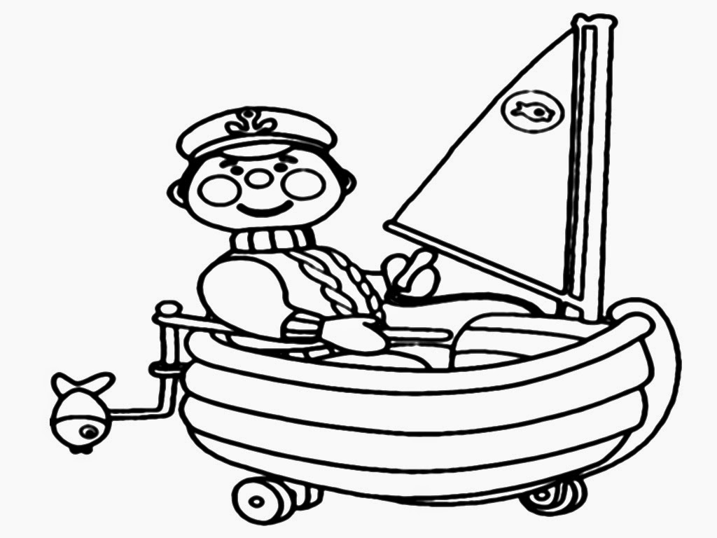 sailors coloring sheet