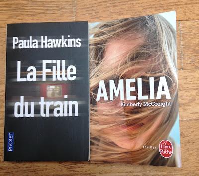 livres, la fille du train paula hawkins, amelia kimberly mccreight