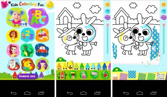 aplikasi mewarnai gambar Android untuk anak