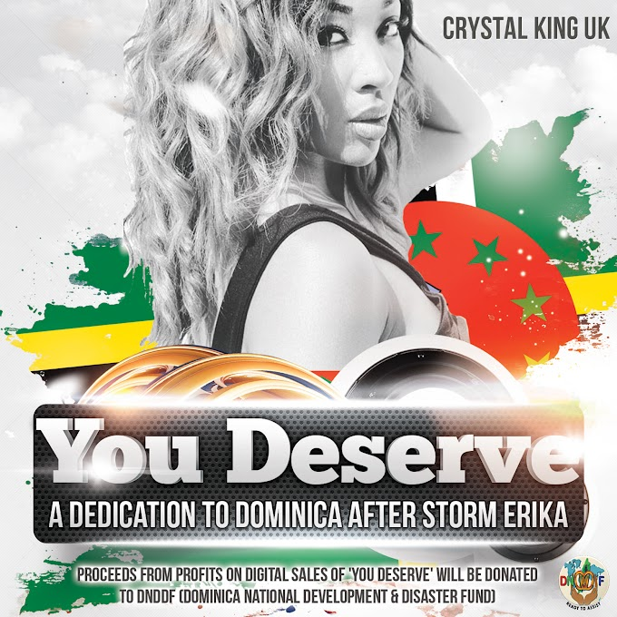 Crystal King UK Releases New Charity Song for Dominica (27/03/2016)