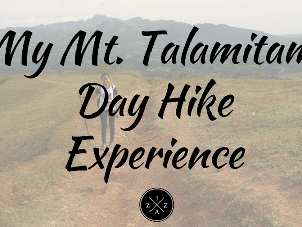 My Mt. Talamitam Day Hike Experience