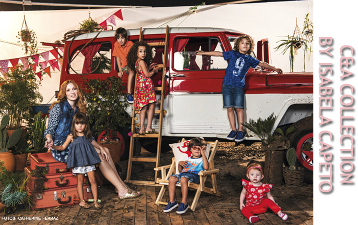 Moda, Moda infantil, isabela capeto, c&A