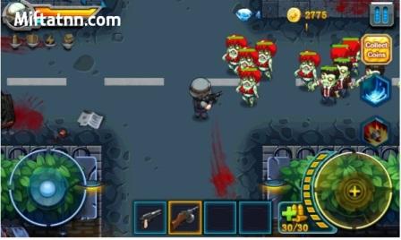 Game Arcade Android Offline Ringan Zombie Fire Mod Apk