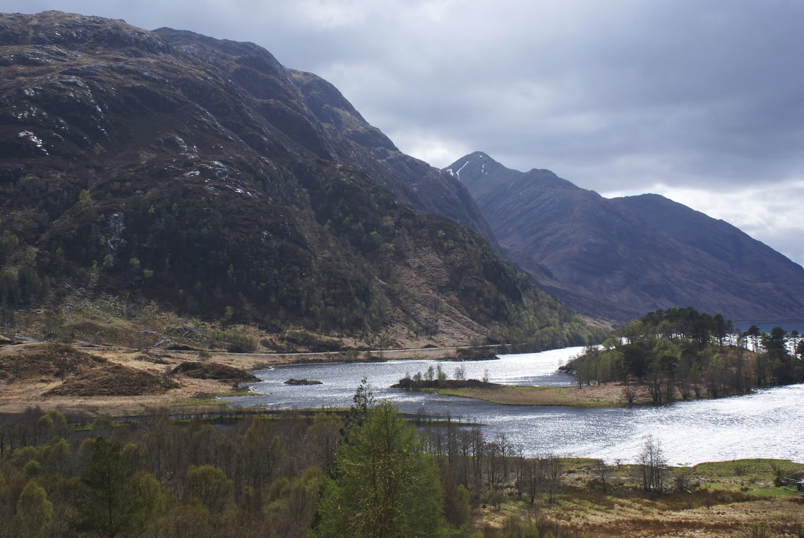 glenfinnan monument loch shiel scotland uk highlands travel